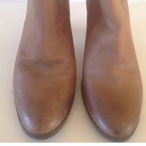 Gap Ankle Boots Ladies Size 9 Brown Leather